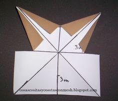 como hacer una estrella de papel grande paso a paso