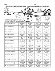 Solving Systems of Equations Elimination Method Christmas