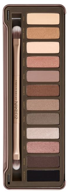 Every beauty junkie needs this gorgeous Urban Decay naked2 palette. Helps create the perfect smokey eye, and has shades ranging from matte to glittery.