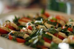 Caprese by Alexa's Catering. Seattle Caterer.