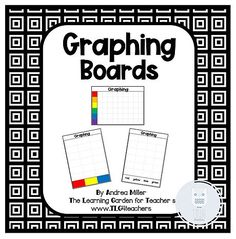 Free graphing printables for preschool and kindergarten children. Perfect for graphing practice and center activities. Free Preschool, Math Concepts, Homeschool Math, School Themes, First Grade Math, Learning Through Play, Literacy Activities, Kindergarten Math, Childhood Education