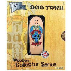 Tech Deck Wooden Collector Series [Dog Town - Jim Muir]