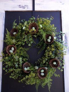 Bird's Nest Wreath