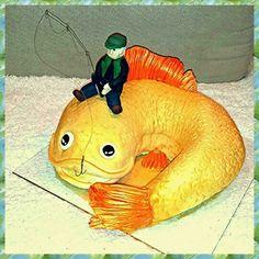 Golden fish cake