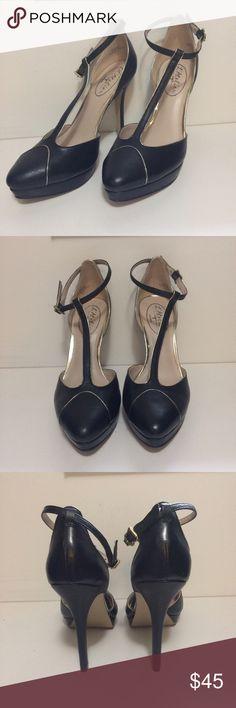 L' Atelier London Leather Heels Size 6.5 Worn once. Still look brand new! L'Atelier London Shoes Heels