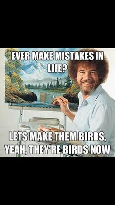 Mistakes and birds