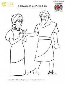 Abraham Coloring Pages Genesis 17:6 Father of Many Nations