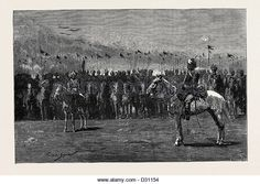 THE WAR IN EGYPT: OUR INDIAN CONTINGENT, THE 13TH BENGAL LANCERS - Stock Image