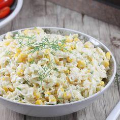 Sałatka z selera. Snack Recipes, Dessert Recipes, Cooking Recipes, Desserts, Celery Salad, Tortellini, Potato Salad, Appetizers, Food And Drink