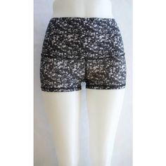 Lulu high waisted boogie shorts Worn/Washed once! Luxtreme fabric, limited edition, could fit a size 2 as well as a size 4 :) lululemon athletica Shorts