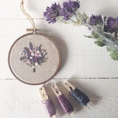 hand embroidered lovelies, custom wedding bouquet embroidery, modern hand embroidery pattern and kits Hand Embroidery Videos, Cushion Embroidery, Hand Embroidery Patterns, Embroidery Thread, Cross Stitch Embroidery, Lana, Couture, Do You Know What, You Got This