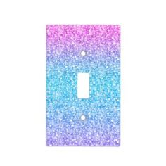 Rippling Tropical Blue Water Light Switch Cover | Zazzle.com Purple Bedrooms, Teen Girl Bedrooms, Teen Bedroom, Glitter Bedroom, Girl Bedroom Designs, Bedroom Ideas, Bedroom Decor, Unicorn Bedroom, Mermaid Room