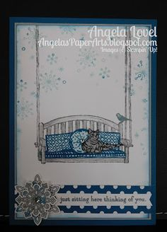 Sneak Peek of Dapper Denim, one of Stampin' Up!'s new 2016-18 In-Colors from the…
