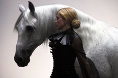 Madonna - She may very well be the queen of pop but even this world renowned entertainer loves her horses. She owns many horses and has featured the animals in several music videos. Madonna's horse accidents have been highly publicized but despite minor injuries she continues to ride.