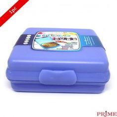 Prime Leggo Cube Mini Box Food Container Blue
