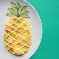Pineapple omelette
