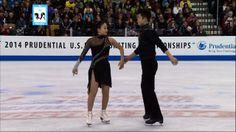 "Maia & Alex Shibutani ""Michael Jackson"" | ICE DANCING | LIVE 1-11-14"