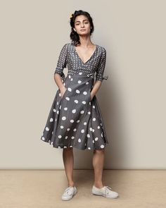 Polka Flirty Dress