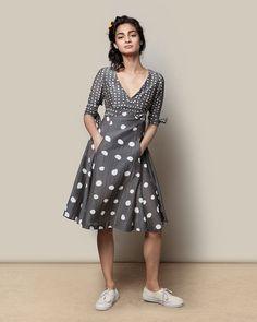 Polka Flirty Dress