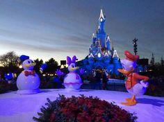 Christmas Time | Sleeping Beauty Castle | Disneyland Paris