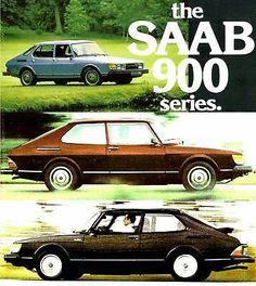 Vintage Advertisement for the SAAB 900