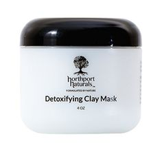 Deep Pore Cleansing Clay Mask By Northport Naturals Oily Skin AntiAcne AntiAging Healing Face Mask Bentonite Kaolin Sea Rhassoul Moroccan  Rose Clay Best Detoxifying Organic Facial Mask >>> See this great product.
