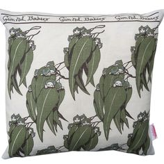 Vintage Retro - May Gibbs Gumnut Babies Linen Cushion Cover | Merry-Go-Round on Madeit