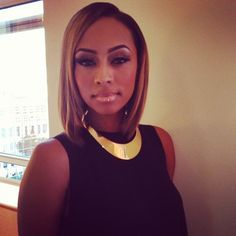Keri Hilson is everything! Love the hair and makeup (face BEAT)