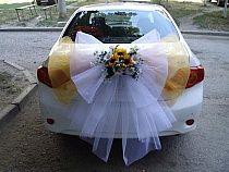 ŚLUB dekoracje samochodu na Stylowi.pl