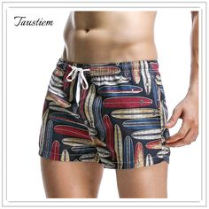 Fashion Taustiem Brand  Men's Casual Shorts Male Sprts Slacks Pants Men Leisure Fitness Short Pants Man Home Sweatpants Shorts