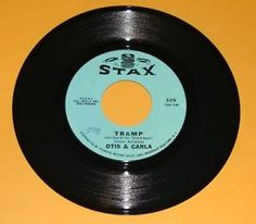 vintage vinyl stax records | ... Carla / Tell It Like It Is / Tramp 45 rpm Stax Record Vintage Vinyl