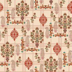 Textile Pattern Design, Textile Patterns, Textile Prints, Pattern Art, Print Patterns, Textiles, Flower Motif, Flower Prints, Flower Patterns