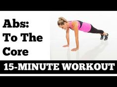 If fad diets, extreme workouts + infomercial products have failed you, you've come to the right place! No crazy exercises, revealing outfits or negative ener. 15 Minute Abs, 15 Minute Workout, Ultimate Ab Workout, Best Ab Workout, Abs Workout Video, Workout For Flat Stomach, Youtube Workout, Exercise Videos, Abdominal Exercises
