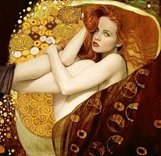 A Tribute to Gustav Klimt, Photo: Ksenia Alexeeva, Model : Kristina Yakimova, Editing: Gonzalo Villar