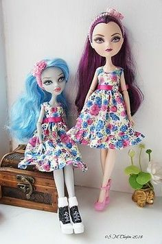 how to make ever after high doll clothes