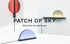 """Patch Of Sky — Ambient Lights Patch Of Sky will keep you connected with your long-distance loved ones: Each light is able to access weather information based on your current Facebook location and then display that information with colored light animations. The light will inform your friend or relative """"about the sky and world you're living in"""" no matter how far away you may be."""