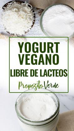 Vegan Yogurt, Vegan Milk, Vegan Vegetarian, Vegetarian Recipes, Veg Recipes, Sweet Recipes, Cooking Recipes, Healthy Recipes, Healthy Cooking