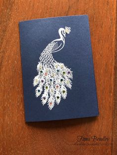 Royal peacock - Stampin Up! Homemade Greeting Cards, Making Greeting Cards, Greeting Cards Handmade, Homemade Cards, Perfect Peacock, Card Making Tips, Stampin Up Catalog, Bird Cards, Card Sketches
