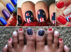 4th of July Nail Art: Show Your American Pride With These 10 Fab Designs