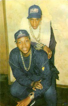 Jay-Z circa 1988 // BT's lounge in Trenton, NJ.