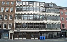 Bessie Surtees House, Quayside.These two merchants houses are fine examples of 16/17th century Jacobean domestic architecture with superb period interiors.