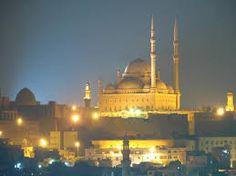 Cairo por la noche y la ciudadela de Saladino y la mezquita Mohamed Ali #visita #Cairo #Egipto #puerto_Alejandria #Excursion
