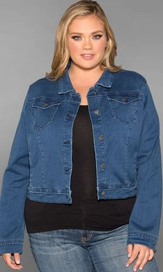 Classic Denim Jacket $69.90 by SWAK Designs