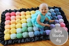 Bubble Baby Blanket DIY. But lets face it, I really want this for myself