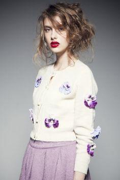 HONEY MI HONEY(ハニーミーハニー)★Pansy knit cardigan【14A-AN-10 】★ViVi公式ファッション通販|NET ViVi CC