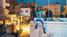 The photographer giving Africans in India a voice
