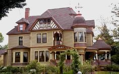 George Barber House by Historic House Colors