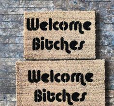 Step in a pile of SASSY with one of these funny doormats (17 photos)