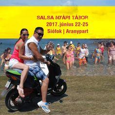 Salsa Summer Camp 2017 Salsa Nyári Tábor 2017 | Balaton, Siófok Aranypart | Június 22-25. Cuban Salsa, Korcula Croatia, Camping, Minden, Sports, Summer, Campsite, Hs Sports, Summer Time
