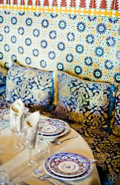 Check out the Moroccan pattern on pattern play! Photograph by Noa Griffel.